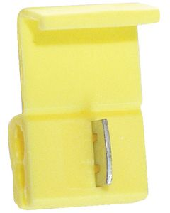 Battery Doctor Yellow Self Tapping IDC Splice Connector, 12-10 AWG, 3/Pk.