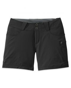 "Outdoor Research Women's Ferrosi Summit 7"" Shorts Black Only"