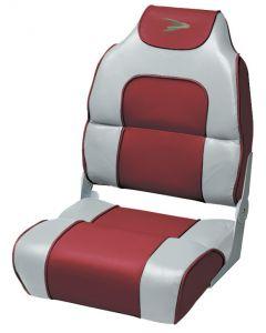 Wise 8WD258PLS - Alumacraft Style High-Back Folding Fishing Seats