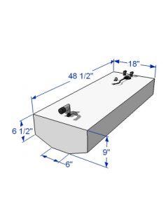 RDS 30 Gallon Below Deck Aluminum Belly Fuel Tank 59181