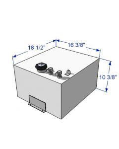RDS 13 Gallon Above Deck Aluminum Fuel Tank 59179