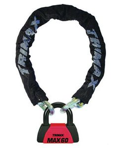 Trimax 5'super Chain W/U-Lock
