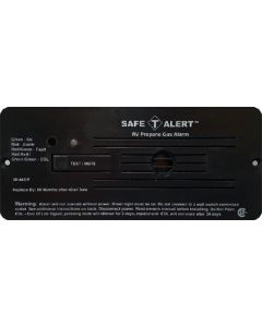 MTI Industries Brn.12Vdc Hdr.Wire Pro.Detect. - Lp Gas Alarm With Hook & Loop Mount