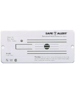 MTI Industries Wht12Vdc Hrd.Wire Propane Det. - Lp Gas Alarm With Hook & Loop Mount