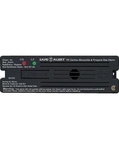 Alarm-12V Surf Mnt Lp-Co Black - 35 Series - Dual Propane/Lp And Carbon Monoxide Alarm
