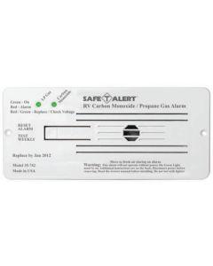 MTI Industries Wht Flush Mnt Carb/Prop Alarm - 35 Series - Dual Propane/Lp And Carbon Monoxide Alarm