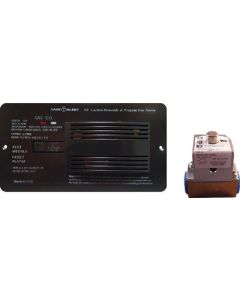 Alarm-12V Flush Mnt Lp-Co Blk - 70 Series