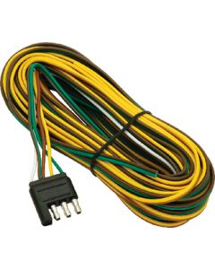 boat trailer wiring harnesses iboats wesbar 25 4 way flat wiringharness 3 ground wishbone