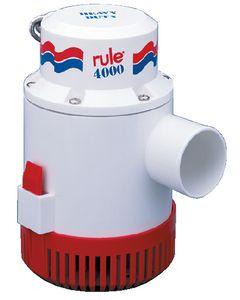 "Rule Manual Bilge Pump 4000 GPH 2"" Port 12v"