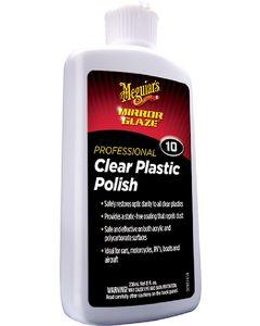 Meguiar's Clear Plastic Polish no.10, 8oz