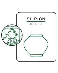 Coleman Slip-On Rosette Shape #51 Mantle, pr.