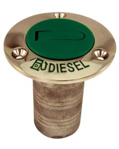 Marpac Stainless Steel Diesel Deck Fill W/Green Cap