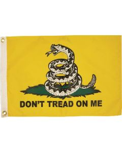Taylor Made FLAG 12X18 don't TREAD ON ME