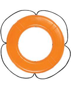 """Taylor Made Polyethylene Ring Buoy 24"""" Orange"""