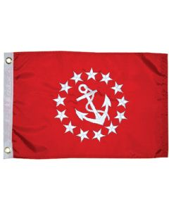 Taylor Made Flag 12inx18in Vice Commodore