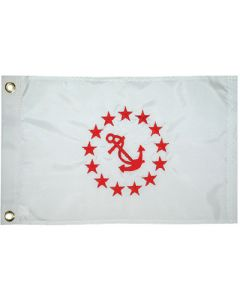 Taylor Made Flag 12inx18in Rear Commodore