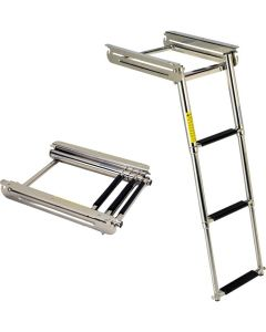 Garelick Under Platform Sliding Ladder Boat Swim Platforms