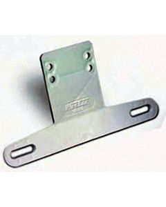 Wesbar License Plate Bracket, White - Cequent Trailer Products