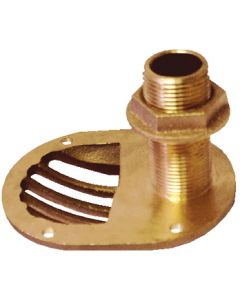 "Groco Thru-Hull Fitting With Nut, 1-1/2"" Nps"