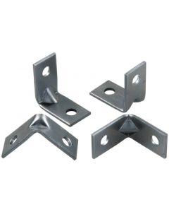 JR Products Multipurpose Angled Bracket - 90&Deg; Angle Brackets