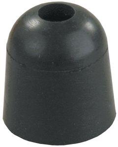 JR Products 1In Rubber Bumper Black - Door Bumper