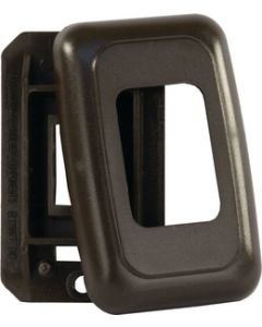 JR Products Single Sw Base/Face Plate Brw