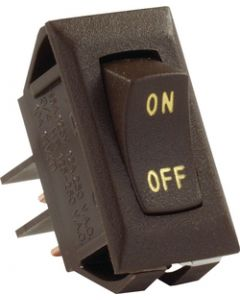 JR Products Labeled 12V On/Off Switch Brwn - Labeled 12V On/Off Switch