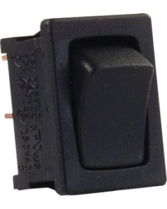 JR Products Mini-12V On/Off Sw Blk/Blk Pk5 - Mini On/Off Switches