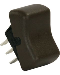 JR Products Spdt On/On Switch Brown