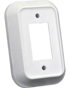 JR Products Spcr For Single Face Plate Wht - Single Face Plate