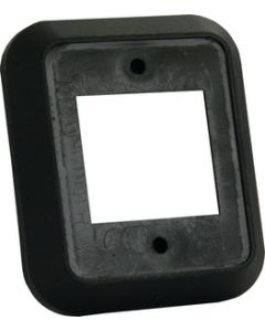 JR Products Spcr For Double Face Plate Blk - Double Face Plate