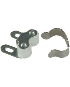 JR Products Sbl Roller Cabnet Catch/Cl - Double Roller Cabinet Catch