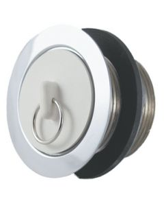 JR Products Strainer W/ Stopper Nut - Universal Strainer And Drain Stopper