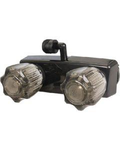Replacement Shower Faucet Blk - Exterior Shower Mixer W/90&Deg; Diverter