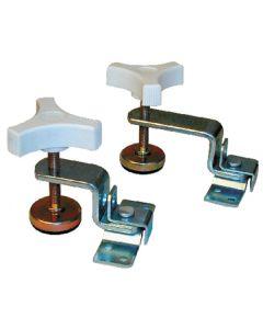RV Designer Fold-Out Bunk Clamp Zinc Plate