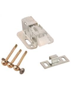 RV Designer Catch-Concealed Pos 4-Bolt 2Pk - Concealed Positive Catch W/4 Bolt To Fit Most Doors
