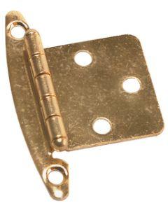 RV Designer Free Swinging Hinge-Brass 2/Pk - Free Swinging Hinge