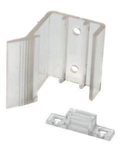RV Designer Latch-Sliding Mirror Door 2/Pk - Sliding Mirrored Door Latch - Universal