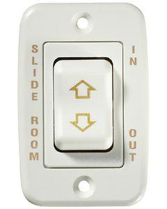 RV Designer Switch-Contour 20A Cont White