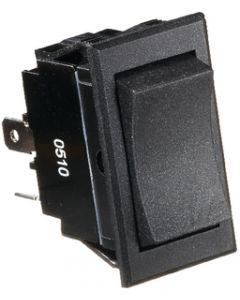RV Designer Switch-Rocker 20A 4-Term Black