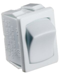 RV Designer Switch-Rocker 10A On-Off White