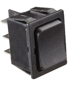 RV Designer Switch-Rocker 5A On-Off-On Blk