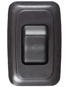 RV Designer Switch-Wall Sgl On-Off Black