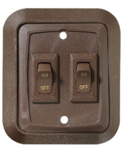 RV Designer Switch Plate-Wall Double