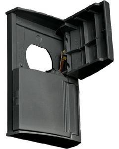 RV Designer Outlet Cover Black
