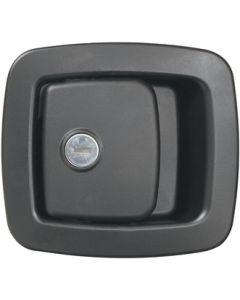 RV Designer Baggage Door Lock-Blk Tm60-460