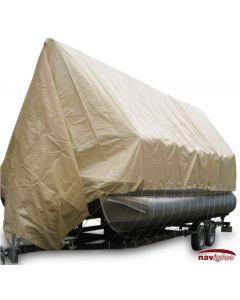 Navigloo Boat Shelter for 25 ft. - 26 ft . Pontoon Boats (Covers Motor)
