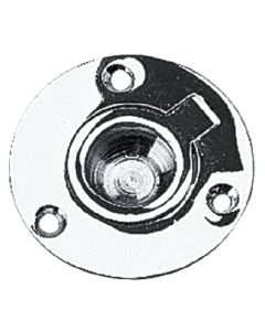 Seadog Chrome Brass Round Lift Ring - 2224601