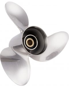 """Solas HR Titan  14.50"""" x 21"""" pitch Standard Rotation 3 Blade Stainless Steel Boat Propeller"""