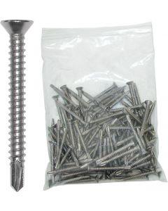 """JIF Marine, LLC Pontoon Deck Screws, 2"""" x 3/16"""" - JIF Marine Products"""